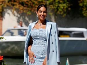 Penampilan Mewah Georgina Rodriguez Pakai Perhiasan Senilai Rp 1,5 Miliar