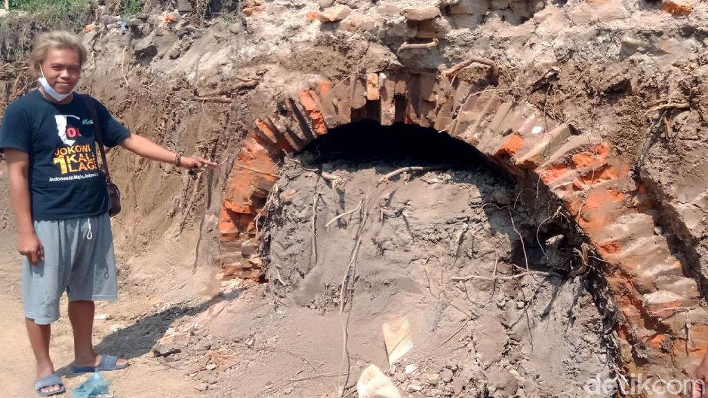 Niat Bikin Kolam Pemancingan, Terowongan Kuno Ditemukan