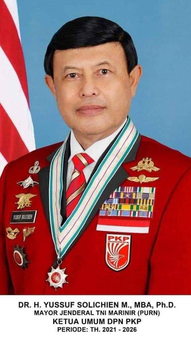 Ketua Umum PKP, Yussuf Solichien