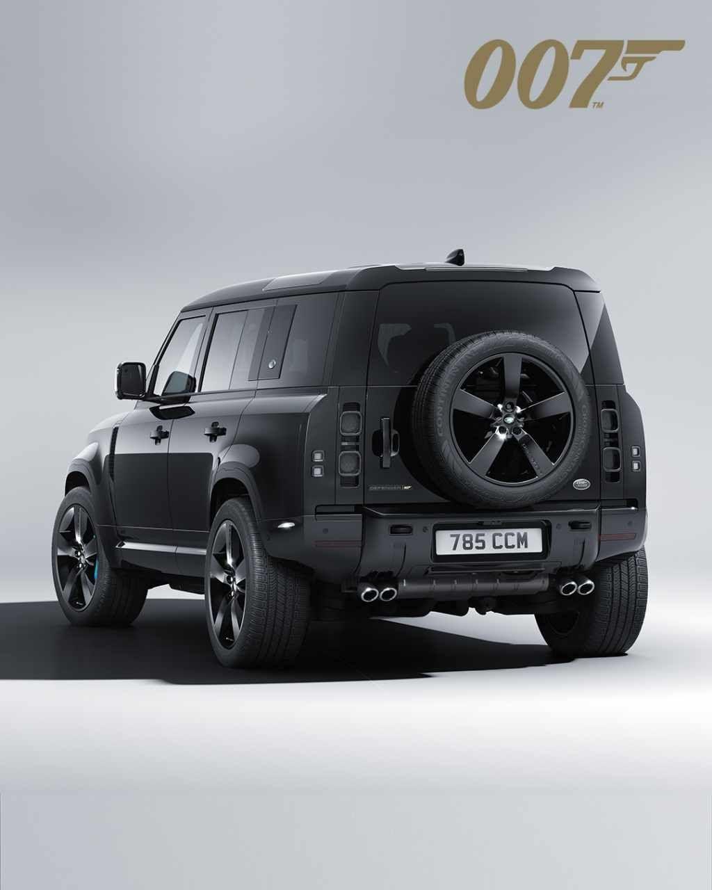 Land Rover Defender V8 James Bond Edition
