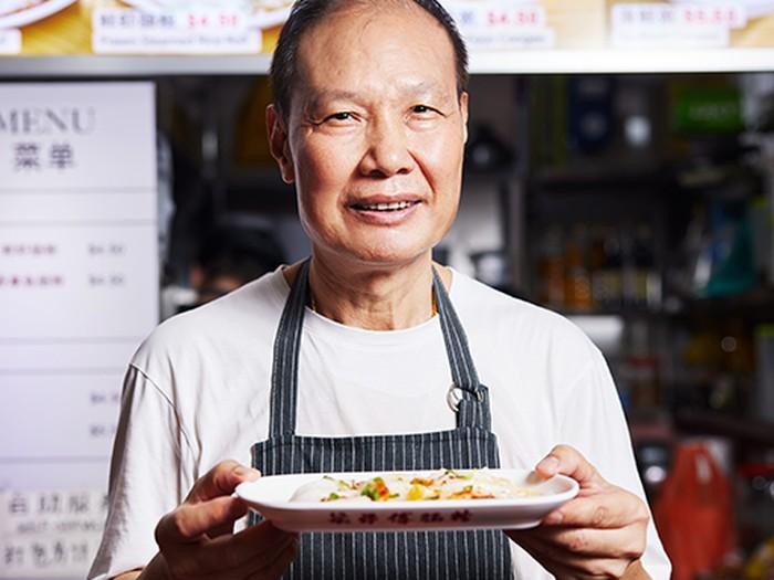 Mantan chef hotel Raffles Hong Kong jualan ci cong fan di Singapura