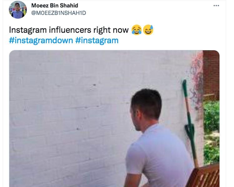 Meme Instagram down