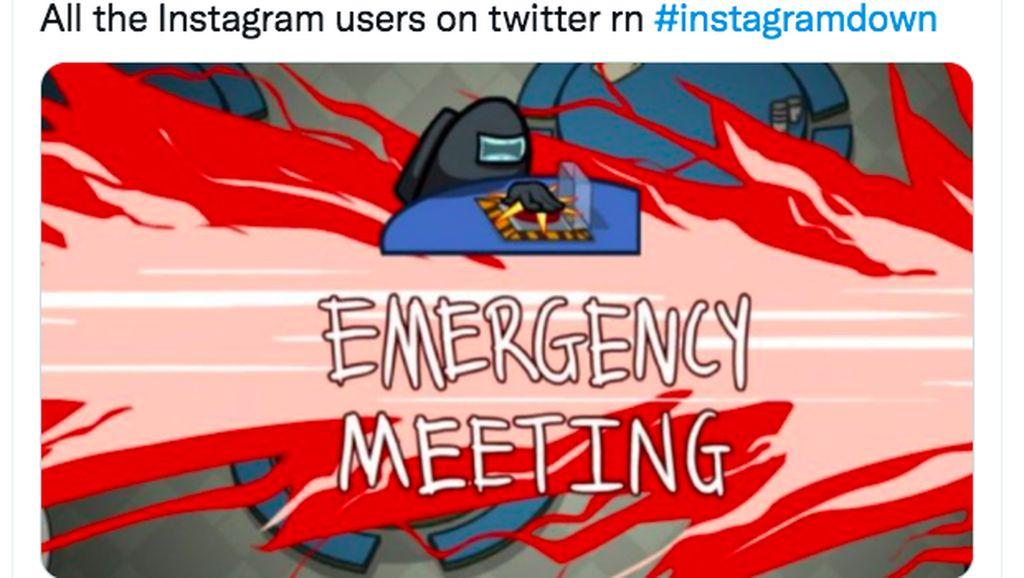 Instagram Down Jadi Bahan Meme Kocak