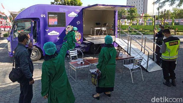 Mobil vaksinasi Kota Yogyakarta