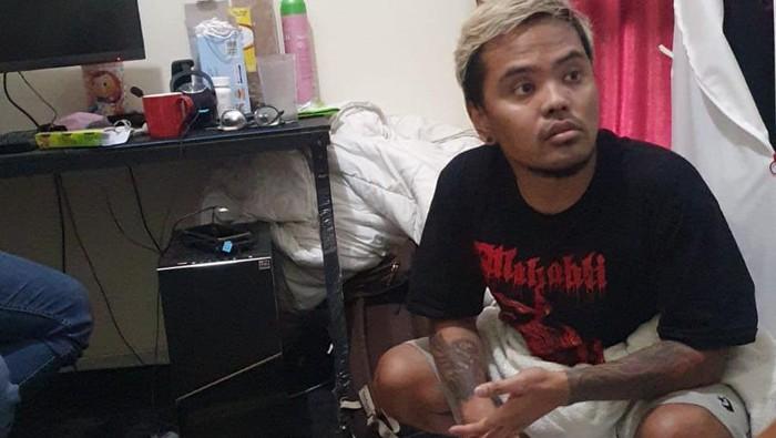Momen Coki Pardede ditangkap terkait sabu