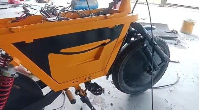 Motor listrik asal SMK Ki Ageng Pemahanan