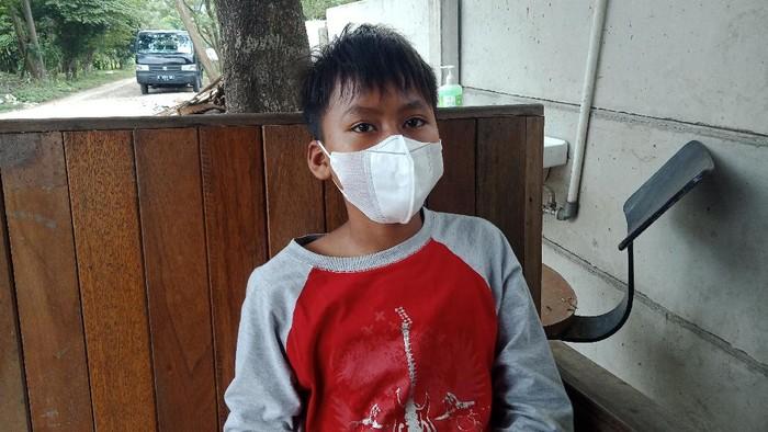 Muhammad Saputra (14) pernah jadi anak asuh Ashanty, kini tak punya rumah karena peristiwa kebakaran