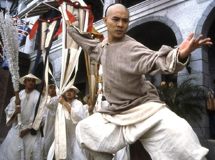 Penampilan Jet Li sebagai Wong Fei Hung di Once Upon a Time In China 2.
