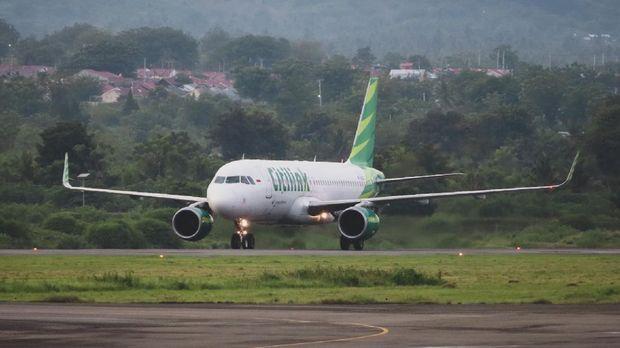 Pesawat Citilink di Palu
