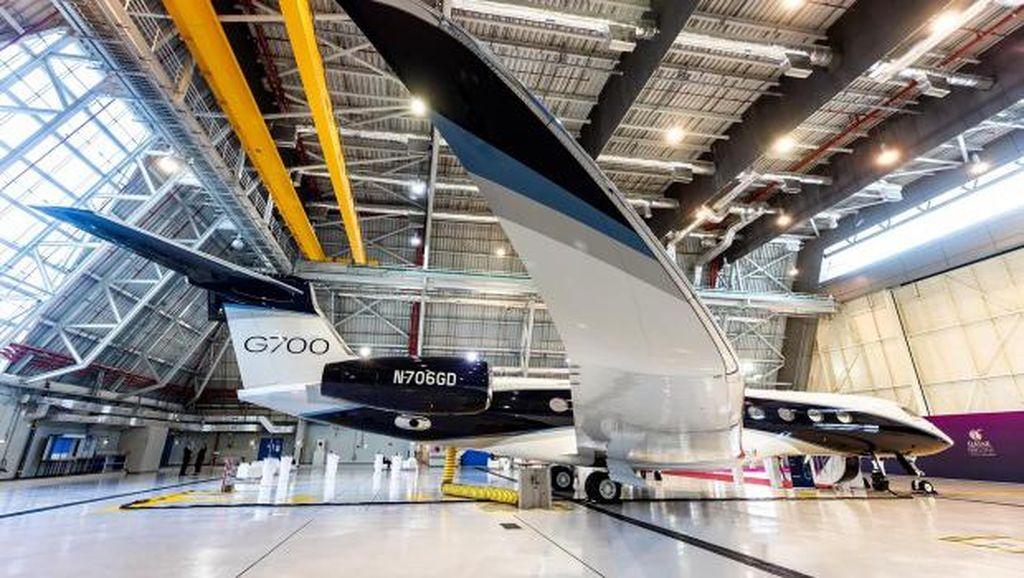 Qatar Airways Pamer Kendaraan Sultan: Jet Pribadi Senilai Rp 1 T