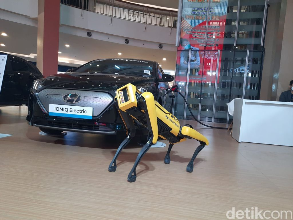 Robot Hyundai Spot, Bisa Tiru Dance ala BTS