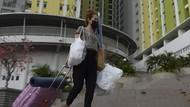 Nihil Pasien COVID-19, Para Nakes Tinggalkan Rusun Pasar Rumput