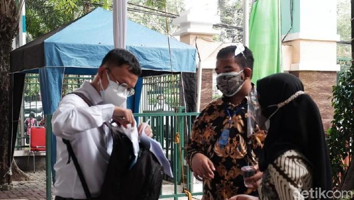 SKD CPNS Hari Pertama/Siti Fatimah-detikcom