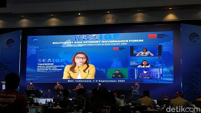 Southeast Asia Internet Governance Forum (SEAIGF) 2021 di Bali