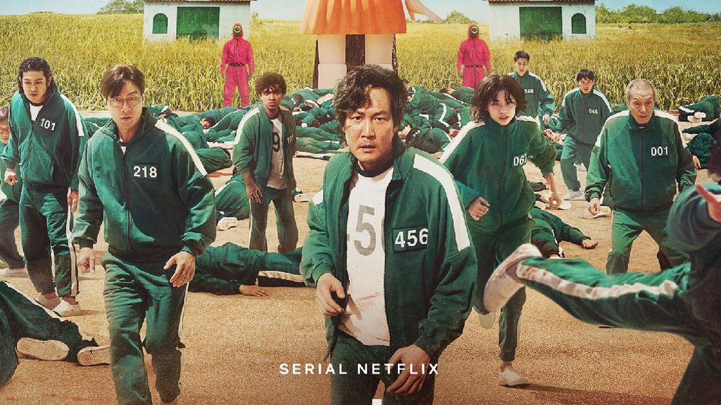 Squid Game Bikin Cuan Rp 12,5 Triliun untuk Netflix