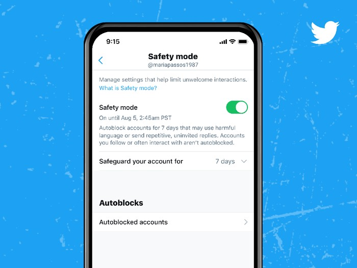 Twitter uji coba fitur Safety Mode