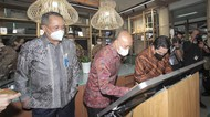 2 Menteri Tinjau Langsung BNI Xpora di Gedung Smesco Jakarta