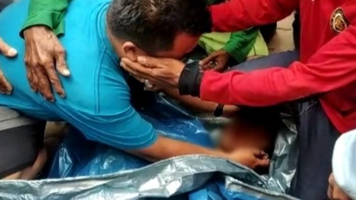Bocah MF (11) ditemukan tewas di bawah jembatan di Lok Bahu, Samarinda, Kaltim