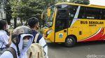 Bus Sekolah DKI Kembali Antar Jemput Siswa