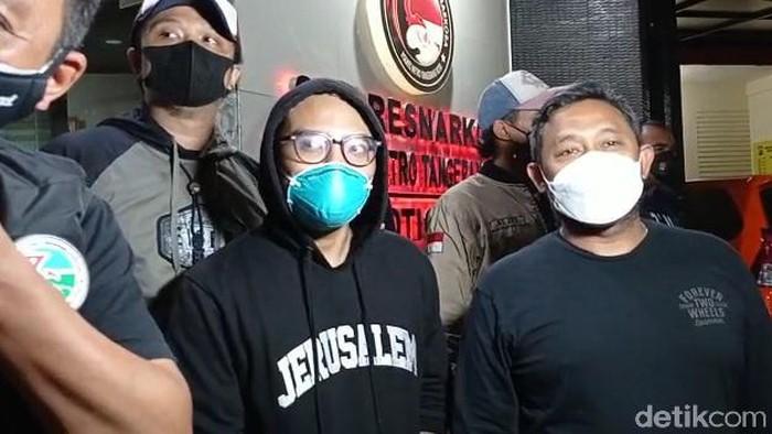 Coki Pardede di Polres Metro Tangerang Kota