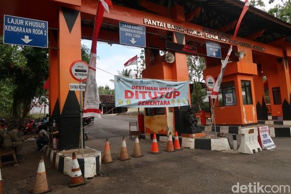Dispar memperketat penjagaan di tempat pemungutan retribusi (TPR) kawasan pantai Gunungkidul hingga jalur wisata.