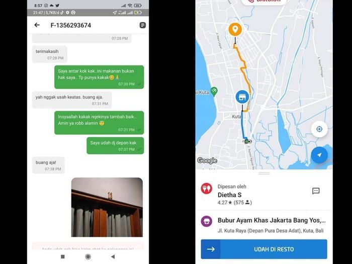 Viral Driver Ojol Kena Suspend karena Dianggap Tak Sopan saat Antar Makanan