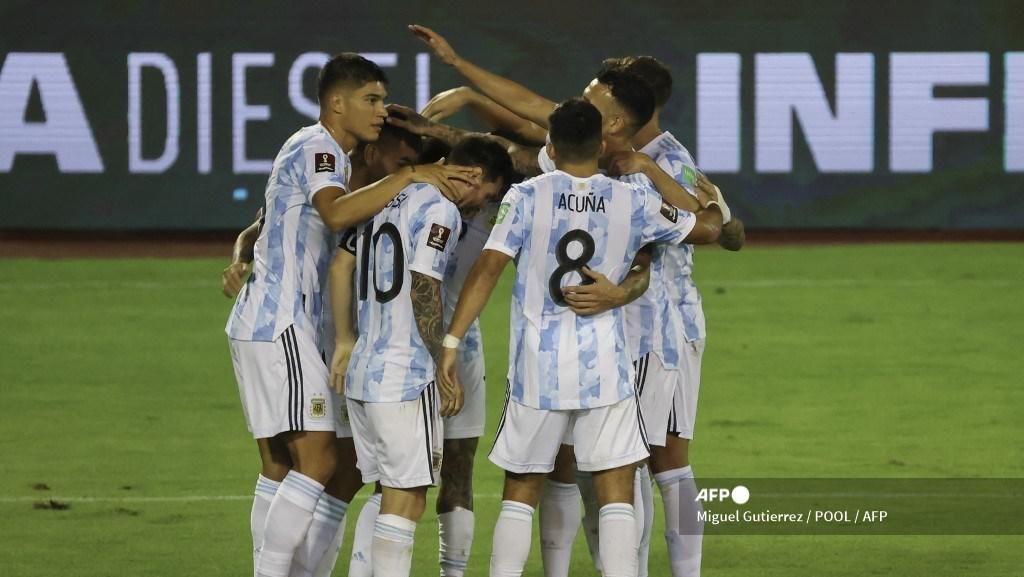 Kualifikasi Piala Dunia 2022: Argentina Bungkam Venezuela 3-1