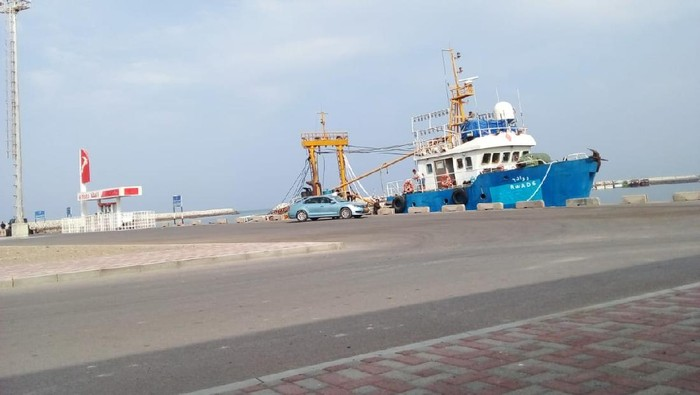 Kapal tempat 2 WNI ABK di Oman mendapat diskriminasi (Foto: dok KBRI Oman)