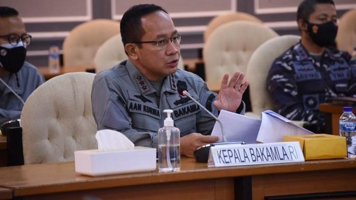 Kepala Badan Keamanan Laut (Bakamla) RI Laksdya TNI Aan Kurnia