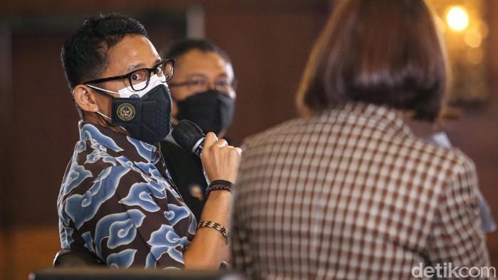 Menteri Pariwisata dan Ekonomi Kreatif Sandiaga Salahudin Unomendukung penuh pengembangan kota kreatif.