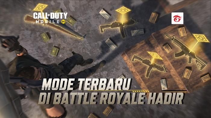 Garena Call of Duty Mobile Hadirkan Mode Battle Royale Terbaru Solid Gold