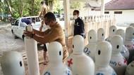 100 Ton Oksigen Disebar ke Rumah Sakit di Tiga Provinsi