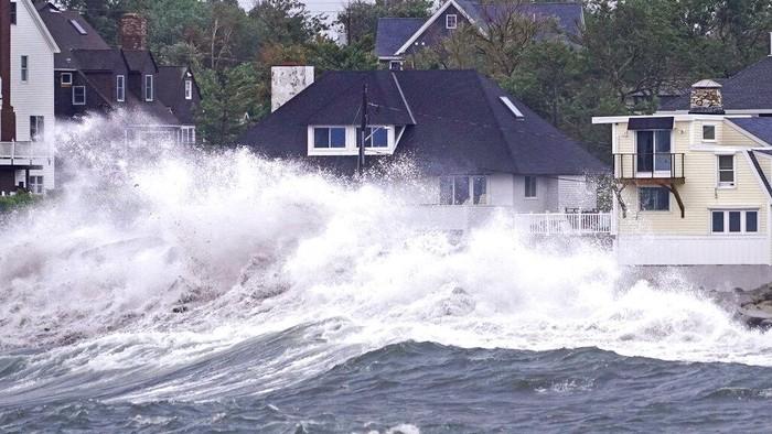 Badai Ida menyebabkan banjir bandang dan menewaskan sedikitnya 41 orang di wilayah New York, Amerika Serikat. Begini penampakan banjirnya.