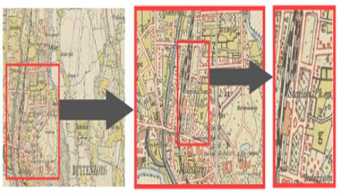 Peta Bogor Zaman Belanda