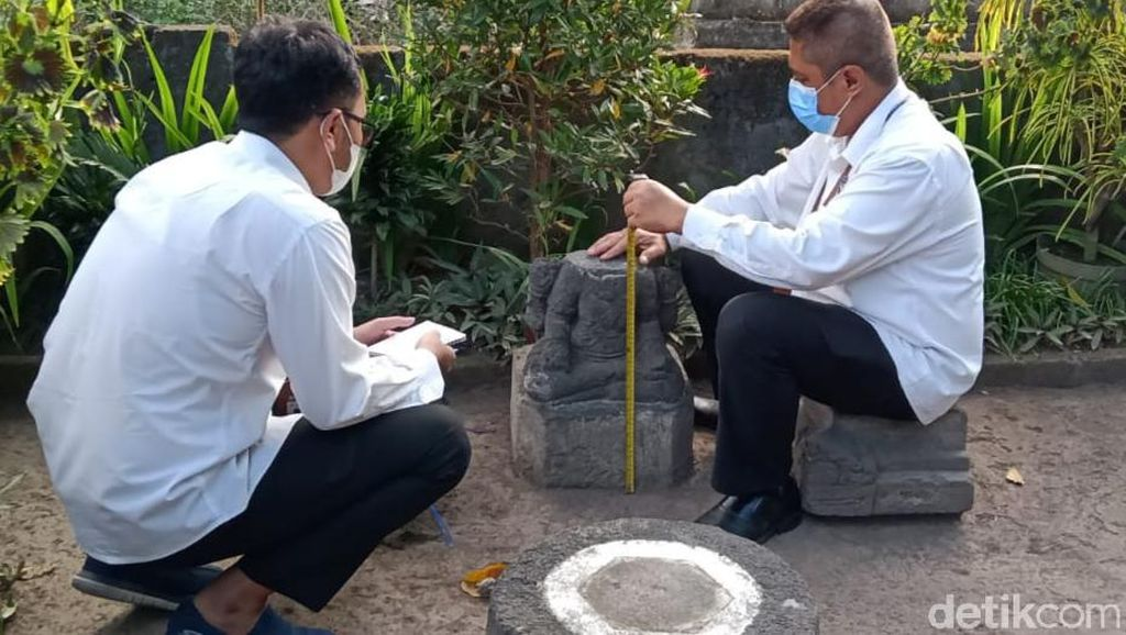 BPCB Cek Temuan Batu Candi-Arca Duduk di Klaten, Ini Hasilnya