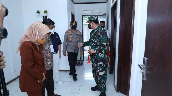 TNI meresmikan 1.500 rumah untuk warga Palu korban gempa dan tsunami 2018 (Dok TNI)