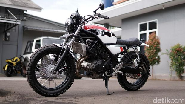 Yamaha MT-25 Custom Scrambler by Studio Motor
