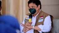 Airlangga: Pandemi Masih Ada, Jangan Kasih Kendor!