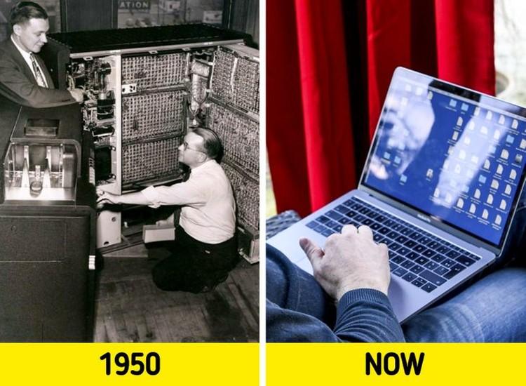 fotoinet potret perubahan dramatis dulu dan sekarang