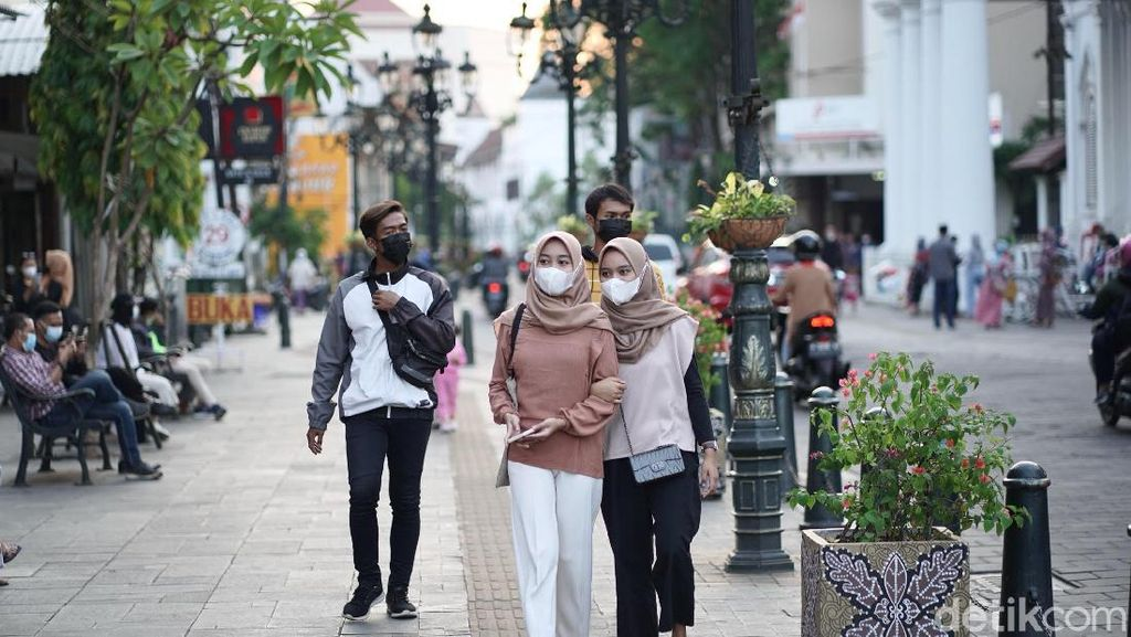 PPKM Level 2, Kota Lama Semarang Mulai Ramai Wisatawan