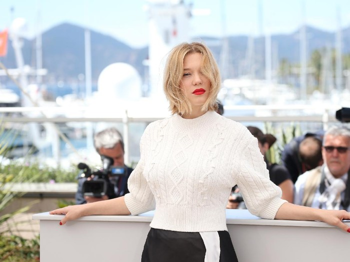 MONTEGO BAY, JAMAICA - APRIL 25:  Cast member Lea Seydoux attends the Bond 25 film launch at Ian Flemings Home GoldenEye on April 25, 2019 in Montego Bay, Jamaica.  (Photo by Slaven Vlasic/Getty Images for Metro Goldwyn Mayer Pictures)