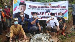 Legislator Gerindra Prasetyo Hadi Realisasikan Program Saluran Irigasi