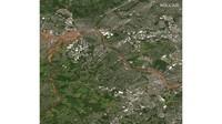 Banjir bandang menerjang wilayah New York, Amerika Serikat.