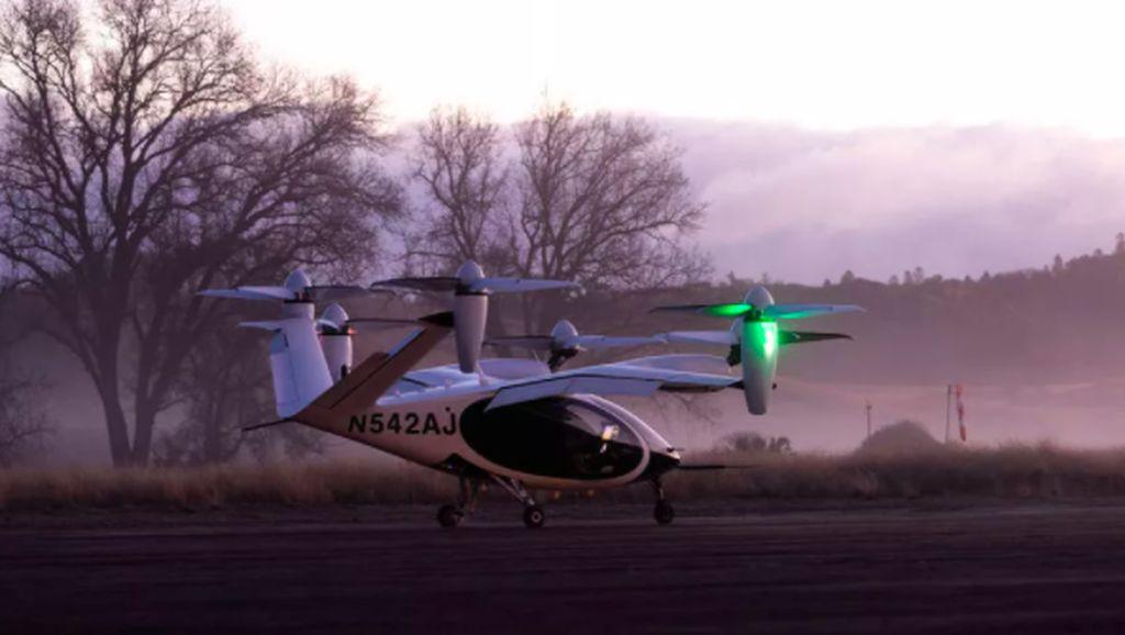 NASA Uji Coba Taksi Listrik Terbang Super Senyap