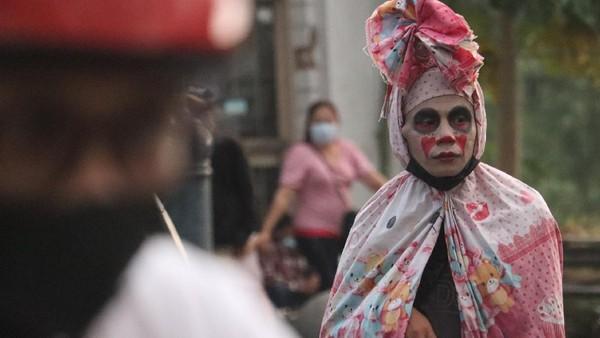 Tak hanya wisatawan, cosplayer mistis juga kembali beraksi(Wisma Putra/detikTravel)
