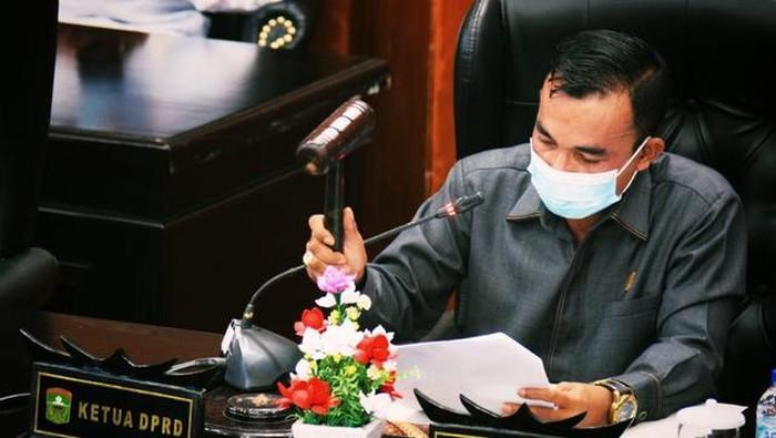 Ketua DPRD Solok, Sumbar, Dodi Hendra.