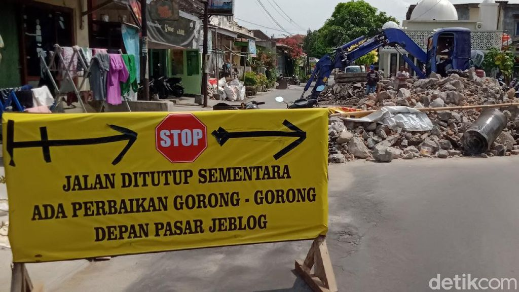 Woro-woro, Lur! Jalan Utama ke Wisata Air Ponggok Klaten Ditutup