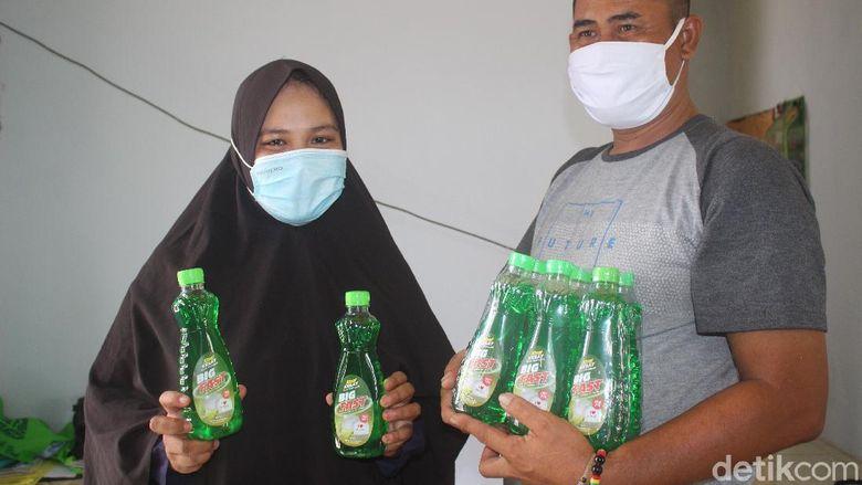 Kisah Irwaningsih Bangkit Dari Kebangkrutan Saat Pandemi, Bikin Usaha Sabun Cuci Piring Langsung Diapresiasi Sandiaga Uno