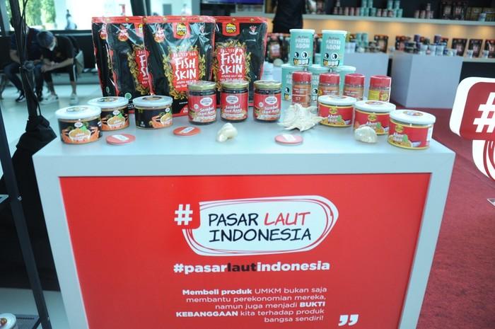 Kontes Masterclass Ikan vs Kopi yang digagas Kementerian Kelautan dan Perikanan (KKP) diikuti UMKM dari berbagai daerah di Indonesia.