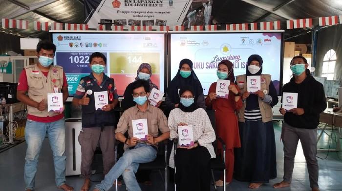 Relawan Pendamping RSLI Launching Buku Saku Peduli Isoman